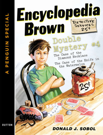 Encyclopedia Brown Double Mystery #4 by Donald J. Sobol