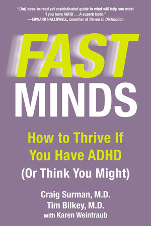 Fast Minds by Craig Surman, Tim Bilkey and Karen Weintraub