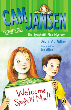 Cam Jansen and the Spaghetti Max Mystery by David A. Adler
