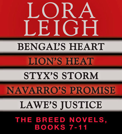 Lora Leigh: The Breeds Novels 7-11