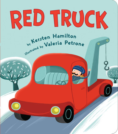 Red Truck by Kersten Hamilton