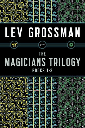 The cover of the book The Magicians Trilogy