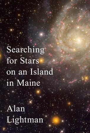 The cover of the book Searching for Stars on an Island in Maine