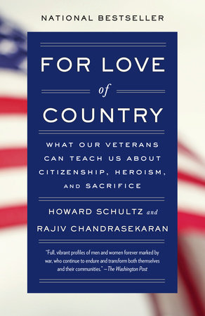 For Love of Country by Howard Schultz and Rajiv Chandrasekaran