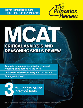 MCAT Critical Analysis and Reasoning Skills Review by Princeton Review