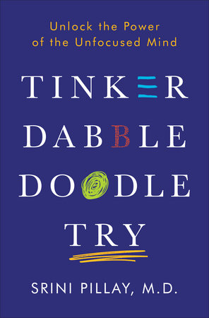 Tinker Dabble Doodle Try by Srini Pillay, M.D.