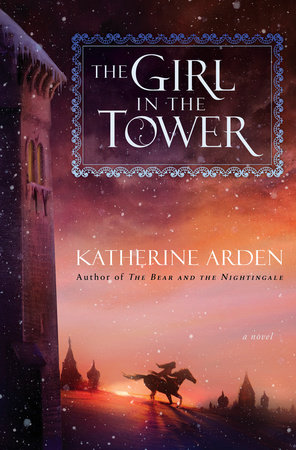 The cover of the book The Girl in the Tower