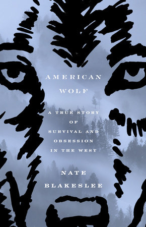 The cover of the book American Wolf