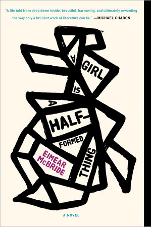 The cover of the book A Girl Is a Half-formed Thing