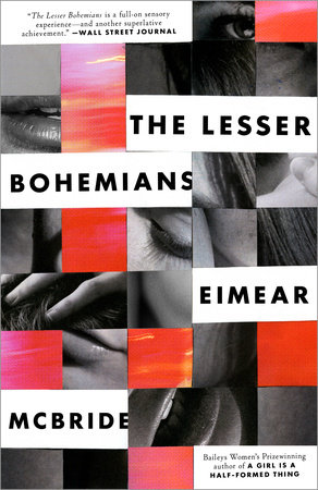 The cover of the book The Lesser Bohemians