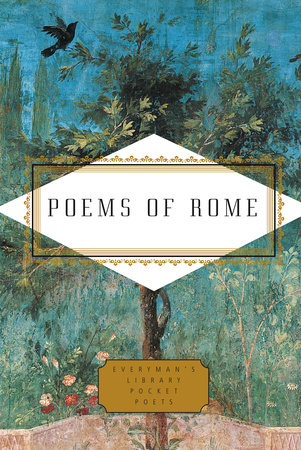 The cover of the book Poems of Rome