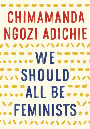 We Should All Be Feminists Book Cover Picture