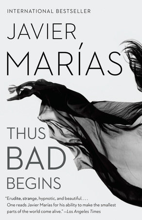 The cover of the book Thus Bad Begins