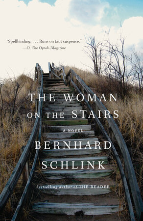 The cover of the book The Woman on the Stairs