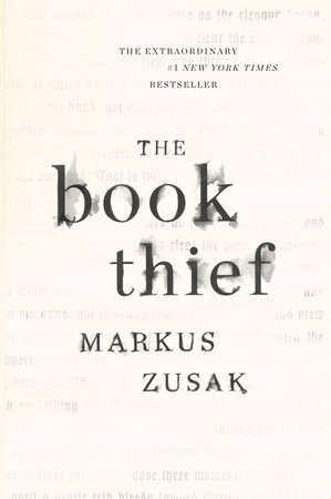 The cover of the book The Book Thief