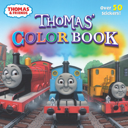 Thomas' Color Book (Thomas & Friends)
