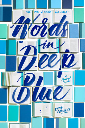 The cover of the book Words in Deep Blue
