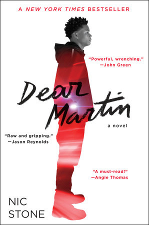 The cover of the book Dear Martin