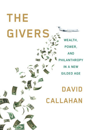 The cover of the book The Givers