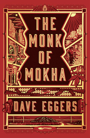 The cover of the book The Monk of Mokha