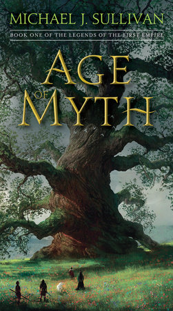 Cover art for the book Age of Myth by Michael J. Sullivan