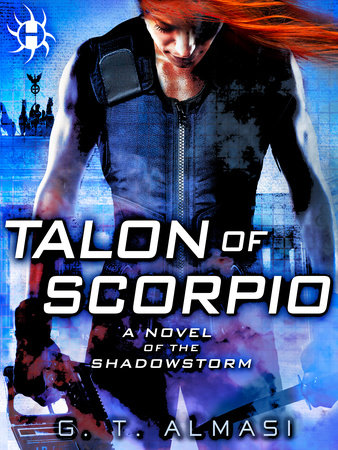 Cover art for the book Talon of Scorpio by G. T. Almasi