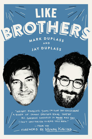 The cover of the book Like Brothers
