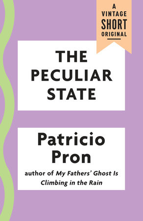 The Peculiar State by Patricio Pron