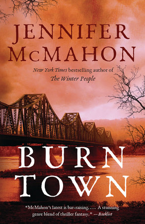The cover of the book Burntown
