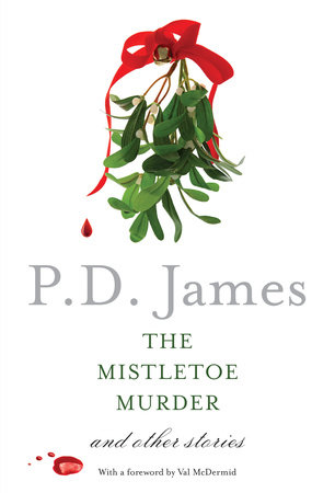 The cover of the book The Mistletoe Murder