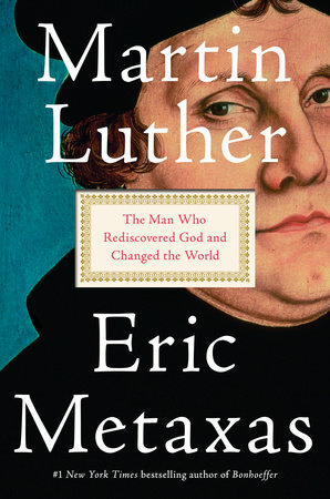 The cover of the book Martin Luther