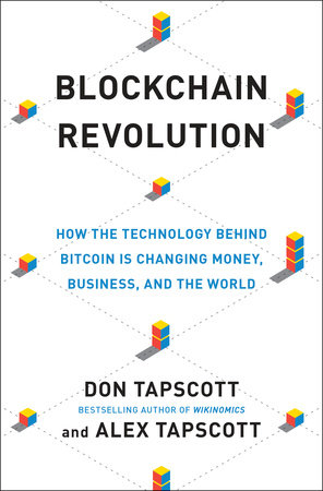 The cover of the book Blockchain Revolution