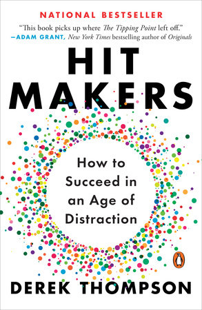 The cover of the book Hit Makers