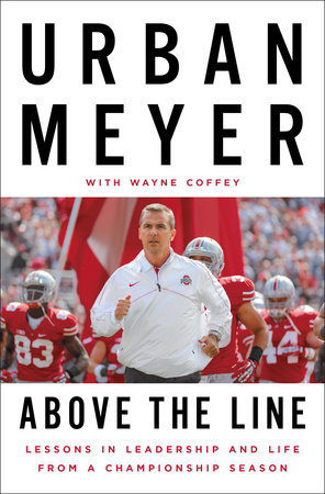 Above the Line by Urban Meyer