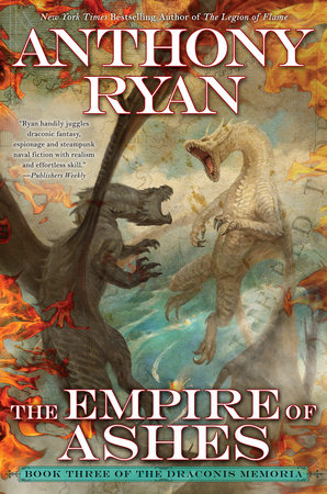 The cover of the book The Empire of Ashes