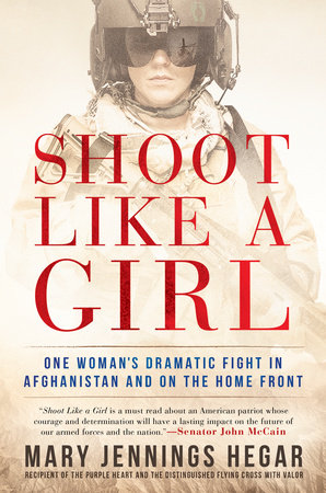 The cover of the book Shoot Like a Girl