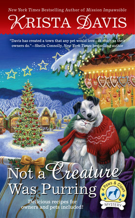 Not a Creature Was Purring by Krista Davis