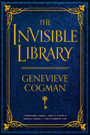 The cover of the book The Invisible Library
