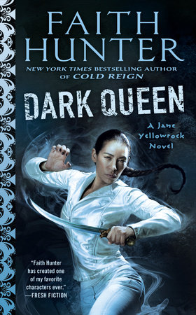 The cover of the book Dark Queen
