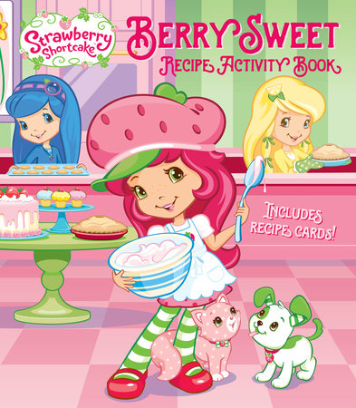 Berry Sweet Recipe Activity Book