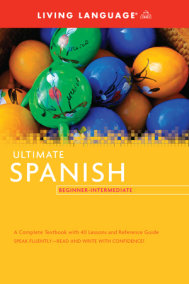 Ultimate Spanish Beginner-Intermediate (Coursebook)