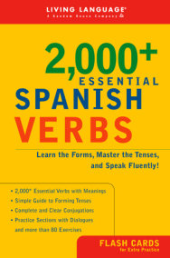 2000+ Essential Spanish Verbs