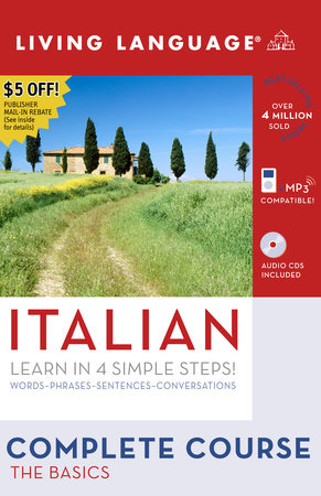 Complete Italian: The Basics (Book and CD Set) by Living Language