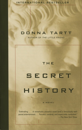 The cover of the book The Secret History