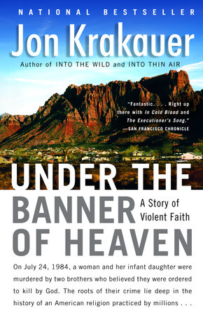 Under the Banner of Heaven Book Cover Picture