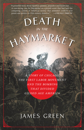 The cover of the book Death in the Haymarket
