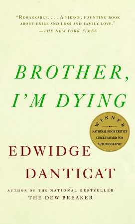 The cover of the book Brother, I'm Dying