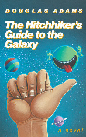 Cover art for the book The Hitchhiker's Guide to the Galaxy 25th Anniversary Edition by Douglas Adams
