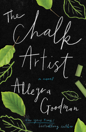 The cover of the book The Chalk Artist