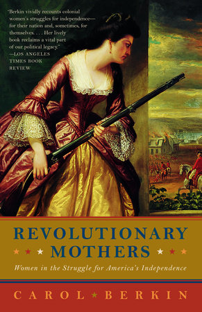 Revolutionary Mothers Book Cover Picture